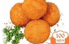 Фото рецепта: «Сырные шарики из моцареллы»