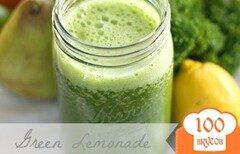 Фото рецепта: «Зеленый лимонад»