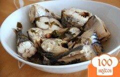 Фото рецепта: «Скумбрия в соусе киндзмари»