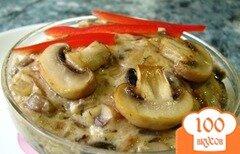 Фото рецепта: «Свинина с шампиньонами»