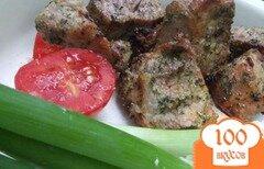 Фото рецепта: «Шашлык с зеленью»