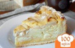 Фото рецепта: «Цветаевский яблочный пирог»
