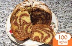 Фото рецепта: «Мраморный кекс»