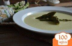 Фото рецепта: «Крем-суп с зеленой спаржей»