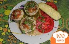 Фото рецепта: «Фаршированные кабачки запечённые в духовке»