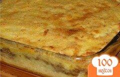 Фото рецепта: «Запеканка картофельная с вареным мясом»