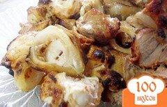 Фото рецепта: «Шашлык и куриной грудке»