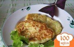 Фото рецепта: «Кабачковые оладьи с сыром»