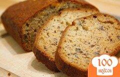 Фото рецепта: «Банановый хлеб с орехами»