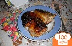 Фото рецепта: «Скумбрия, запеченная в томате»