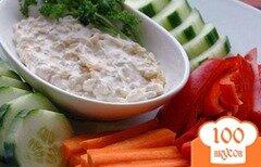 Фото рецепта: «Соус из голубого сыра и шалота»