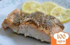 Фото рецепта: «Cемга с лимонным маслом»