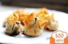 Фото рецепта: «Конвертики с грибами»