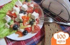 Фото рецепта: «Салат с салакисом»