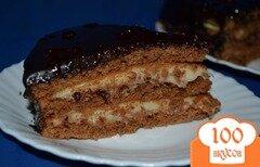 Фото рецепта: «Шоколадный торт с заварным кремом»