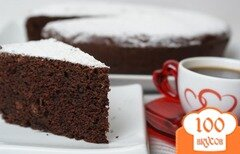 Фото рецепта: «Шоколадное гато»