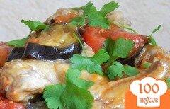 Фото рецепта: «Тушеная курица в мультиварке»