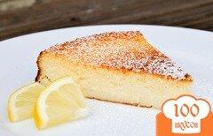 Фото рецепта: «Лимонный пирог в мультиварке»