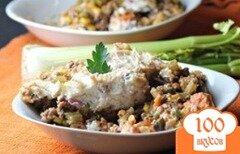 Фото рецепта: «Запеканка из мяса с овощами и картофельного пюре»