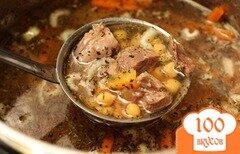 Фото рецепта: «Суп из баранины с нутом»