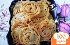 Фото рецепта: «Джалеби (индийская сладость)»