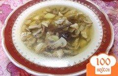 Фото рецепта: «Суп с двумя видами грибов»