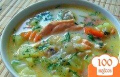 Фото рецепта: «Рыбный суп со сливками»
