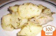 Фото рецепта: «Картошка со свининой»