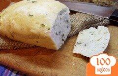 Фото рецепта: «Мятный хлеб»