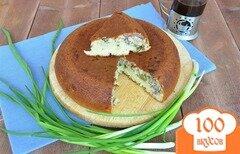Фото рецепта: «Пирог с рыбой в мультиварке»