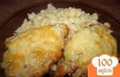 Фото рецепта: «Курица с сыром в духовке»