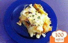 Фото рецепта: «Картофельная запеканка с грибами»