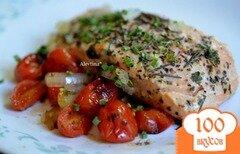 Фото рецепта: «Семга по -средиземноморски»