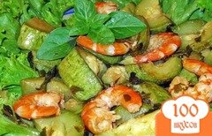 Фото рецепта: «Кабачки с креветками»