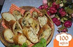 Фото рецепта: «Хлебный рулет с сыром»