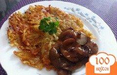 """Фото рецепта: «Картофельный блин """"Пятиминутка""""»"""