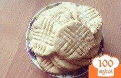 Фото рецепта: «Печенье с арахисовым маслом»