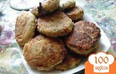 Фото рецепта: «Латкес из цукини с сыром чеддр»