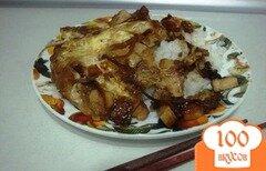 Фото рецепта: «Японский рис с курицей»