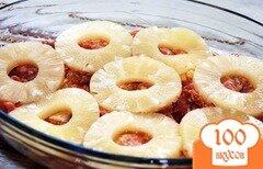 Фото рецепта: «Курица с ананасами в духовке»