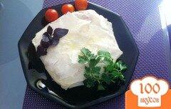 Фото рецепта: «Пирог с сыром камамбер и черри»