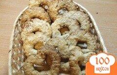 Фото рецепта: «Печенько с овсяными хлопьями (быстрое)»