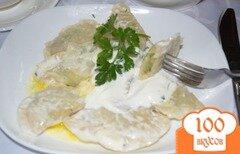 Фото рецепта: «Вареники с укропом и картофелем»
