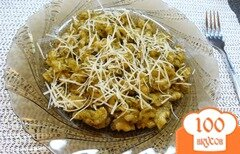 Фото рецепта: «Макароны с соусом песто»