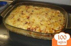Фото рецепта: «Пельмени запеченные с сыром»