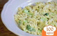 Фото рецепта: «Паста с брокколи и сыром»