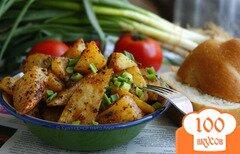 Фото рецепта: «Запеченный картофель по-турецки»