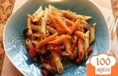 Фото рецепта: «Перья с грибной подливой»