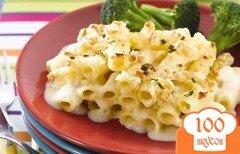 Фото рецепта: «Макароны запеченные с сыром»