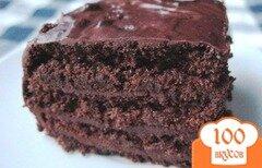 Фото рецепта: «Шоколадный торт без муки»